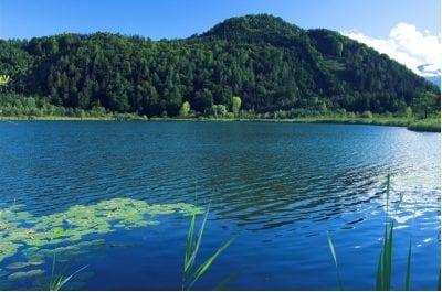 Kleinsee © Daniel Zupanc, Tourismusregion Klopeiner See - Südkärnten, www.klopeinersee.at