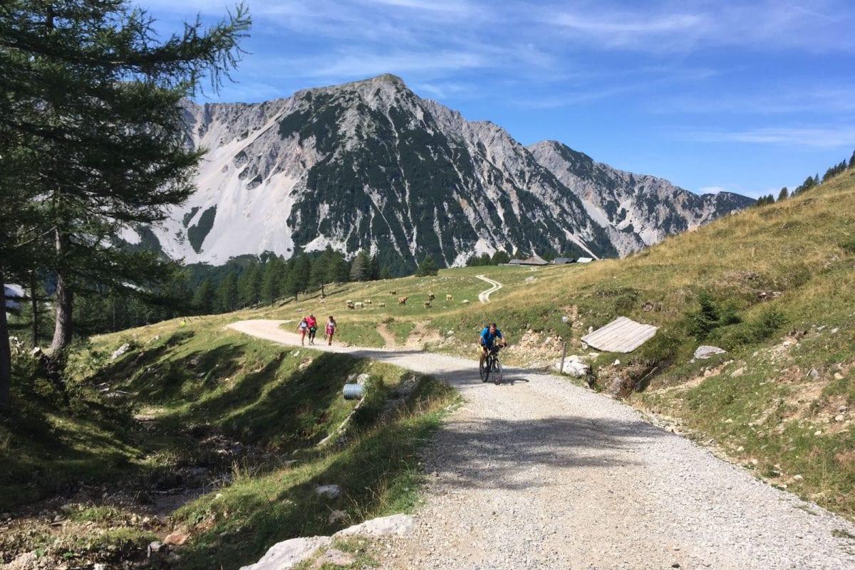 Mit dem Rad auf die Klagenfurter Hütte