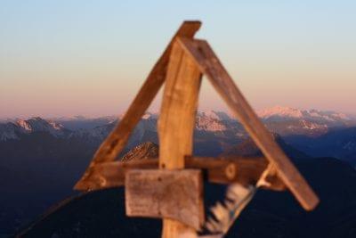 Gipfelkreuz Hochobir © Ferienwohnungen Jernej Katharina