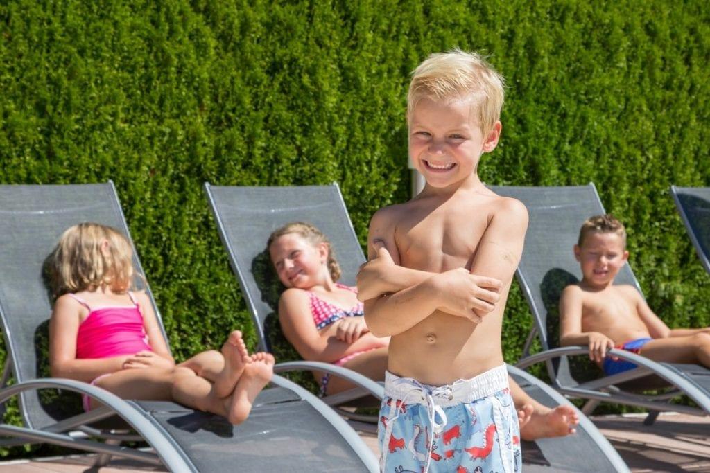 Familienfreundliche Ferienwohnungen mit Pool Jernej Katharina am Turnersee