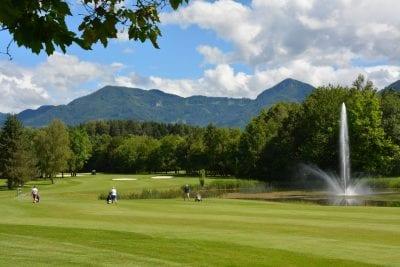 Golfen in Kärnten am Turnersee © www.golfklopein.at, Ferienwohnungen Jernej Katharina