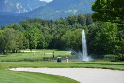 Golfen in Kärnten am Turnersee © www.golfklopein.at