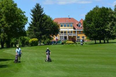 Golfurlaub in Südkärnten am Turnersee © www.golfklopein.at Ferienwohnungen Jernej Katharina