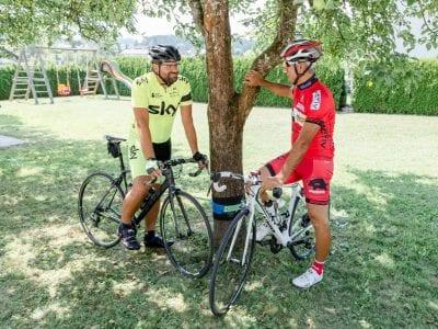Radfahren und Mountainbiken Urlaub in Südkärnten Ferienwohnungen Jernej Katharina
