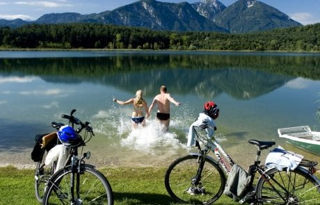 Turnersee Südkärnten Klopeiner See Kärnten Radurlaub Ferienwohnungen Jernej Katharina ©-Tourismusregion-Klopeiner-See-Südkärnten Kärnten