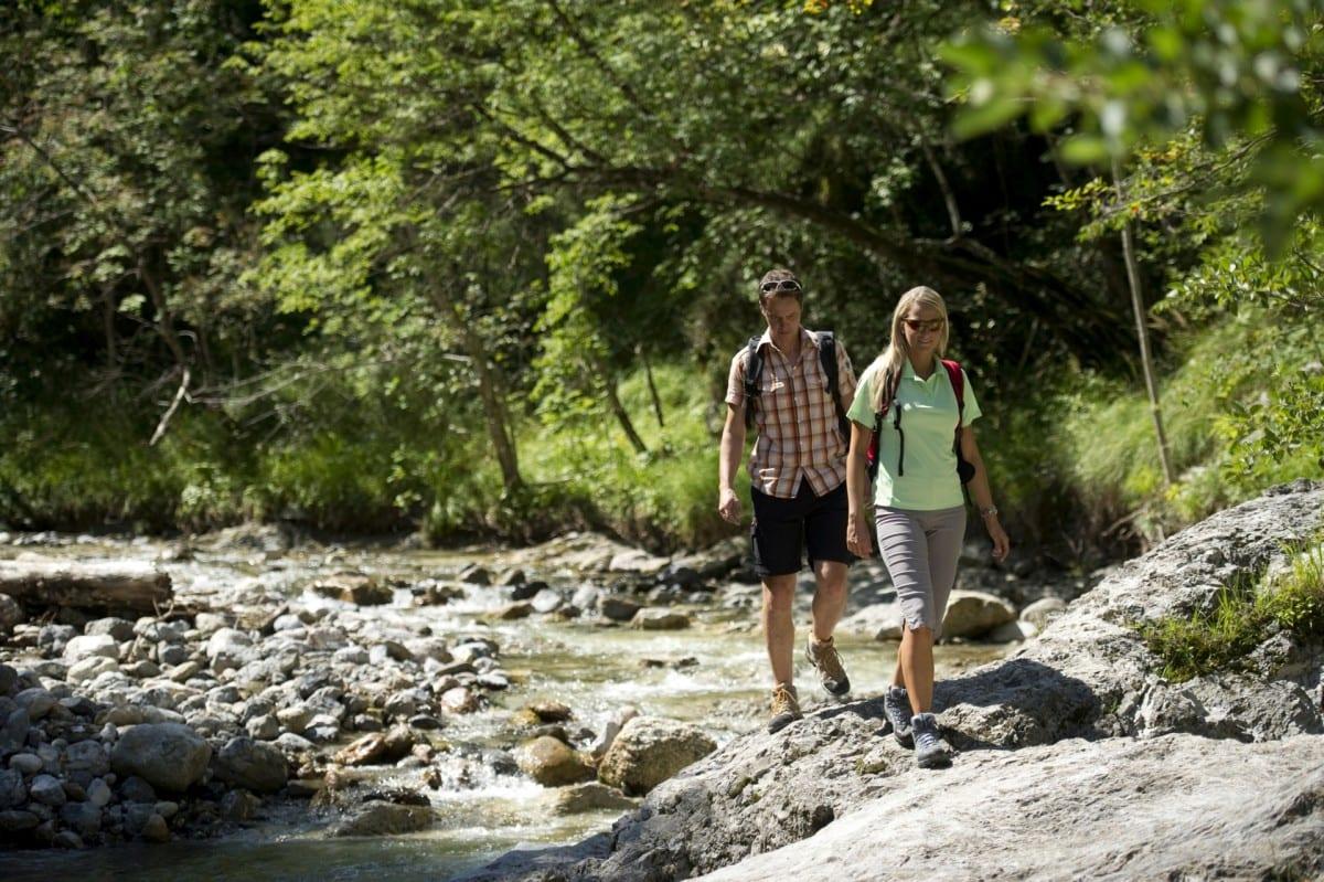 Wandern in Südkärnten am Turnersee Ferienwohnungen Jernej Kartharina