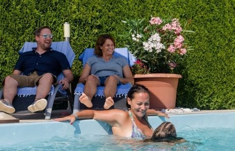 Relaxen am Pool Ferienwohungen Katharina Jernej Südkärnten