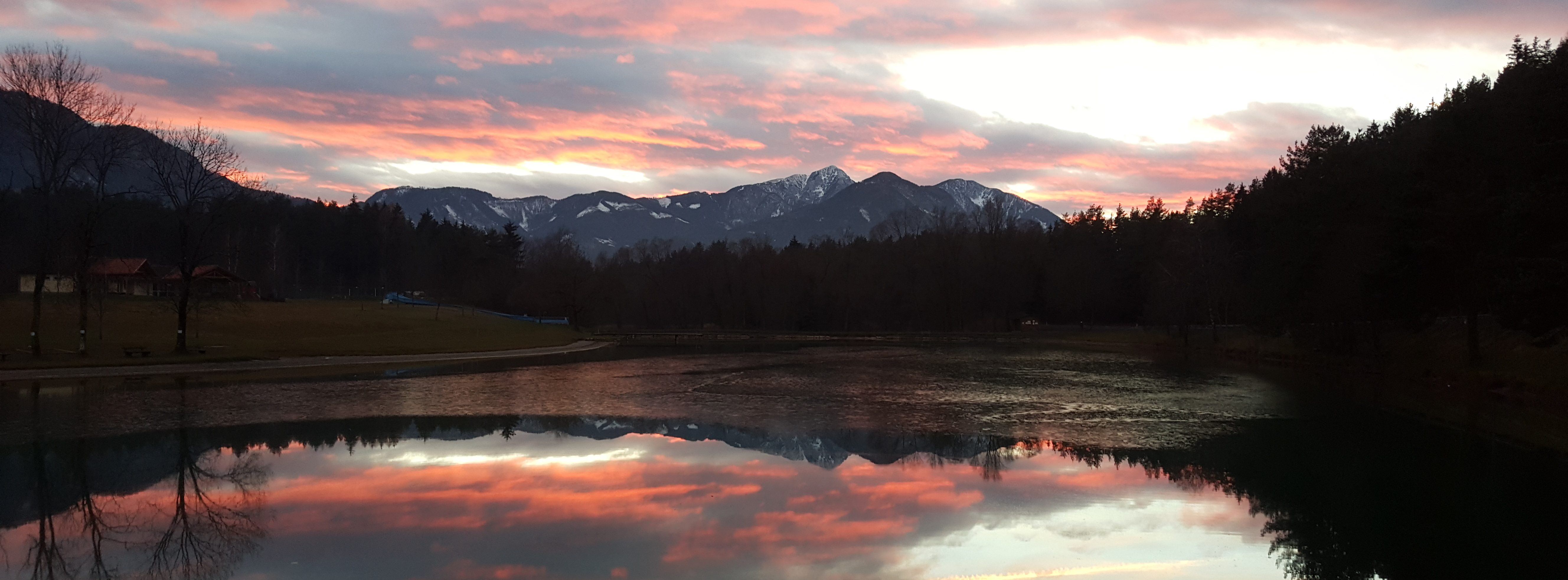 Sonneggersee in Kärnten Ferienwohungen Jernej Katharina