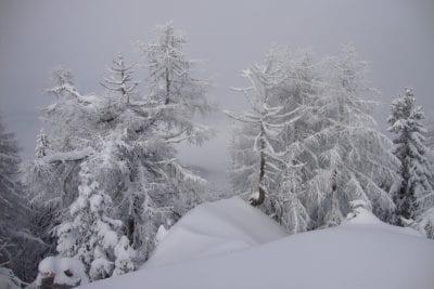Winter in Südkärnten Eisenkappel Ferienwohnungen Jernej Katharina Südkärnten