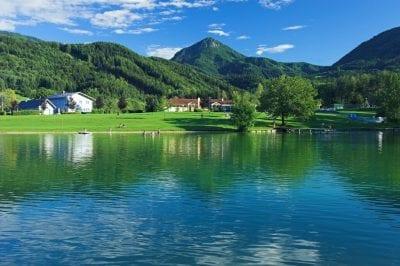 Sonneggeer See im Süden von Kärnten