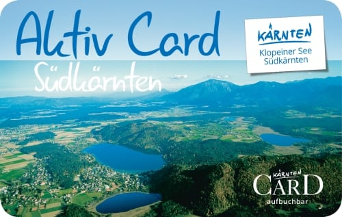AktivCard Südkärnten Logo, Klopeiner See - Südkärnten Ferienwohnungen Jernej Katharina